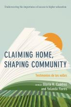 Cover of Claiming Home, Shaping Community