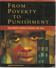 Cover of From Poverty to Punishment: How Welfare Reform Punishes the Poor