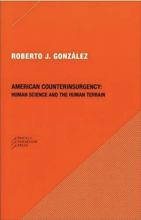 Cover of American Counterinsurgency: Human Science and the Human Terrain