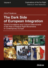 Cover of The Dark Side of European integration: Social Foundations and Cultural Determinants of the Rise of Radical Right Movements in Contemporary Europe