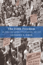 Cover of The Fifth Freedom: Jobs, Politics, and Civil Rights in the United States, 1941-1972