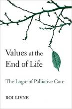 Cover of Values at the End of Life