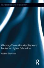 Cover of Working-Class Minority Students' Routes to Higher Education